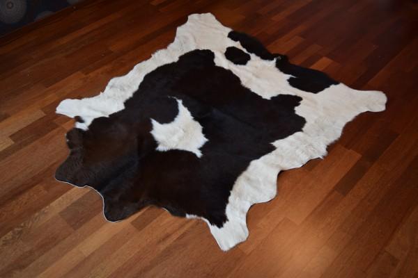 Kuhfell , braun gefleckt, ca. 140x130, Unikat KF-1005