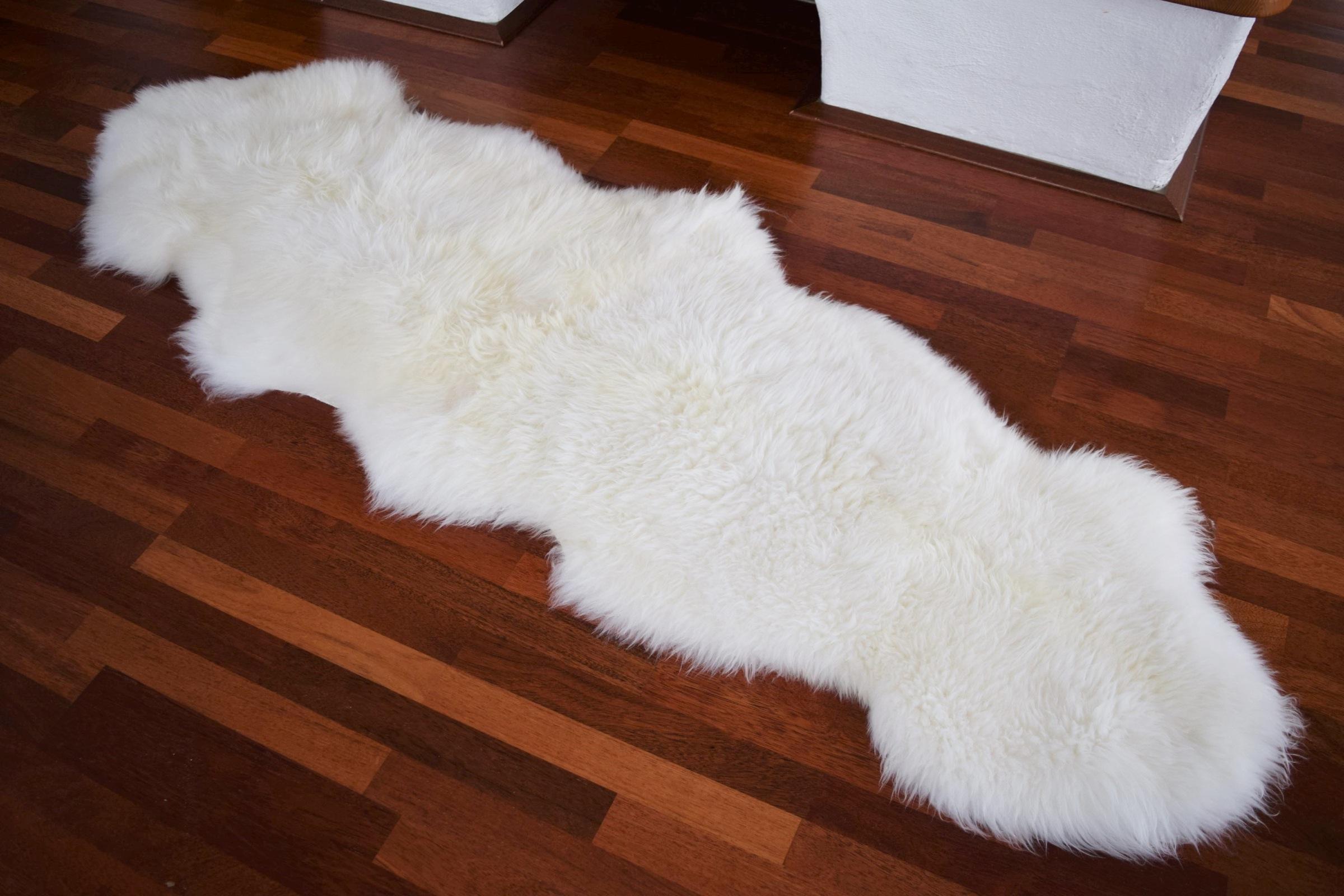 naturasan doppel schaffell aus europa duo wollwei fellteppiche naturasan fellshop. Black Bedroom Furniture Sets. Home Design Ideas